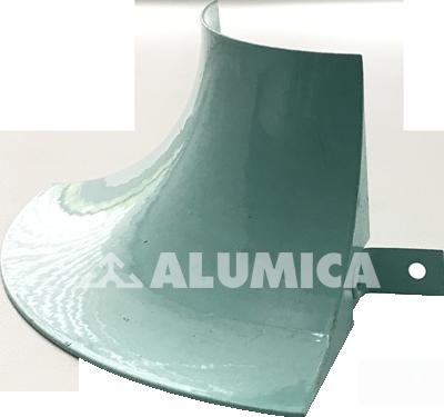 Наружный угол без заведения линолеума компании Alumica