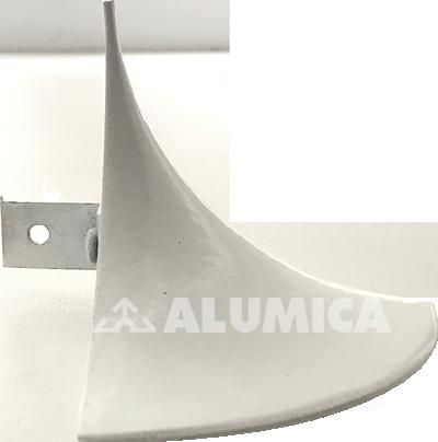Заглушка Пика компании Alumica