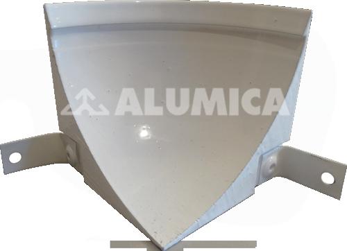 внутренний угол для заведения линолеума компании Alumica