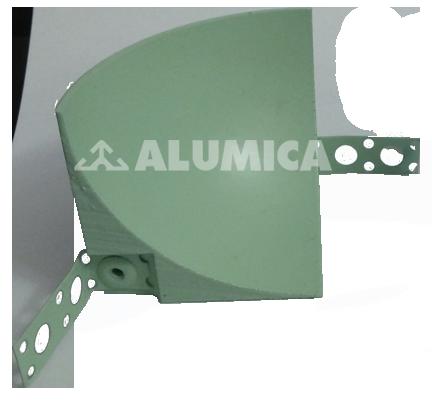 внутренний угол-компании Alumica