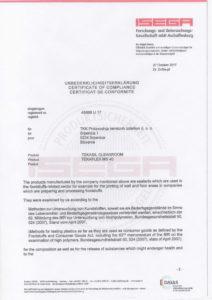 Сертификат на герметик-2