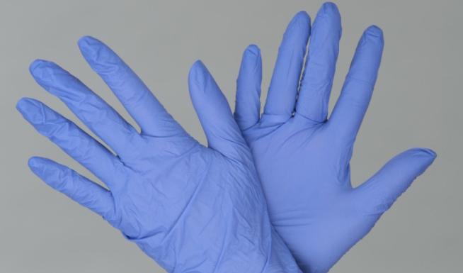 Перчатки НИТРИЛОВЫЕ диагностические (смотровые) нестерильные Фиолетовые