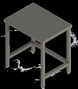 1-П5 (3) Стол рабочий 800х600х850
