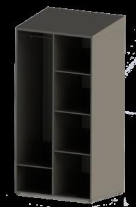 1-П6 Шкаф открытый 1000х700х2000