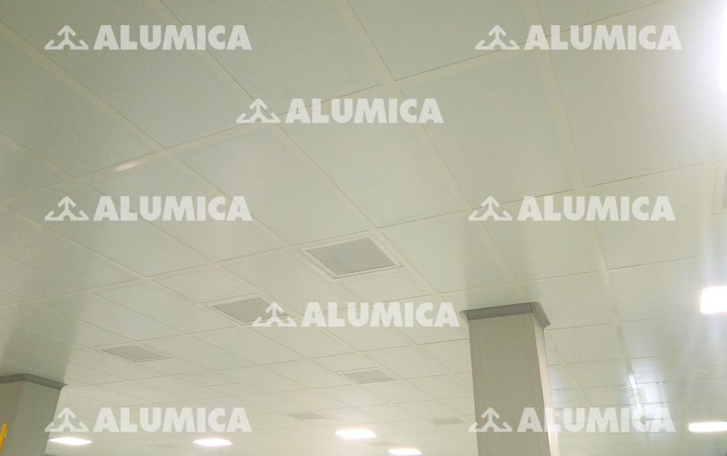 тавровый потолок Алюмика