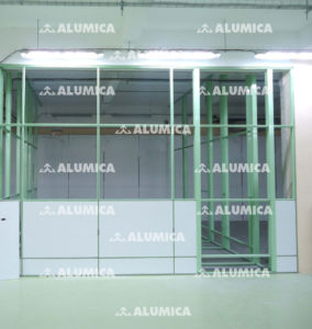 Система конструкций Онега компании Alumica