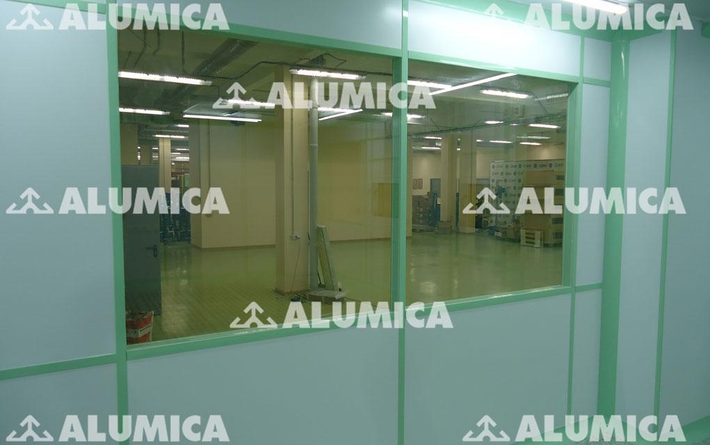 Система конструкций Онега компании Alumica Cleanroom